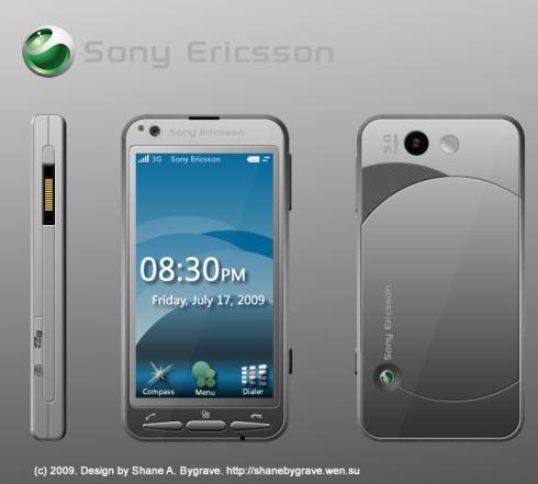 Телефон-компас для Sony Ericsson