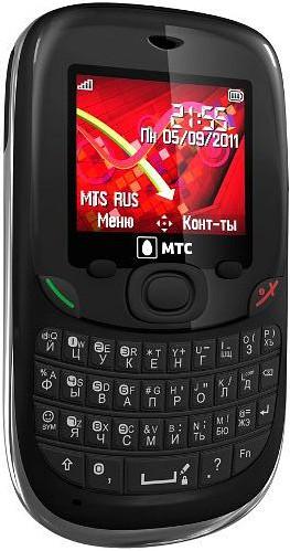 Мобильный оператор МТС анонсировал недорогой мобильный телефон МТС Qwerty