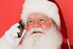 А какой телефон у Деда Мороза?