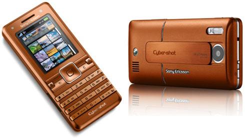Новые цвета Sony Ericsson K770i