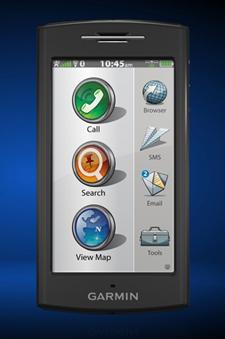 """""""навифон"""" GPS и телефон 2-в-1 от Garmin"""