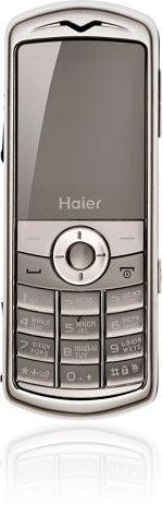 <i>Haier</i> M500 Silver Pearl