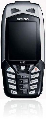 <i>Siemens</i> M65 Racing Black