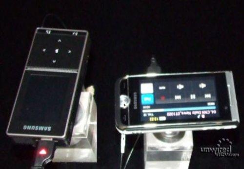Samsung MPB200 и телефон-проектор i7410
