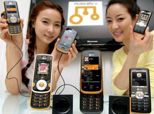 Музыкальные телефоны LG GM310, GM210 и GM205