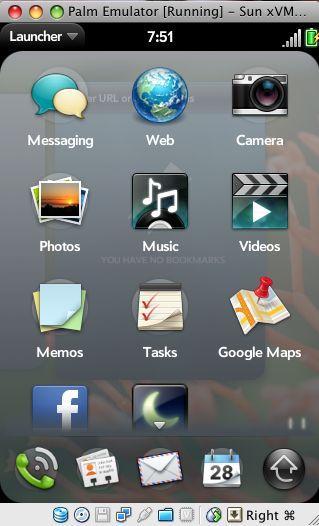 Palm Pre webOS