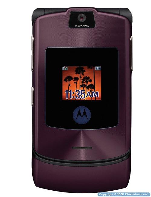 Фиолетовый RAZR V3i