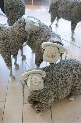 Телефонная овечка