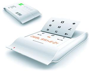 Сотовый телефон из бумаги