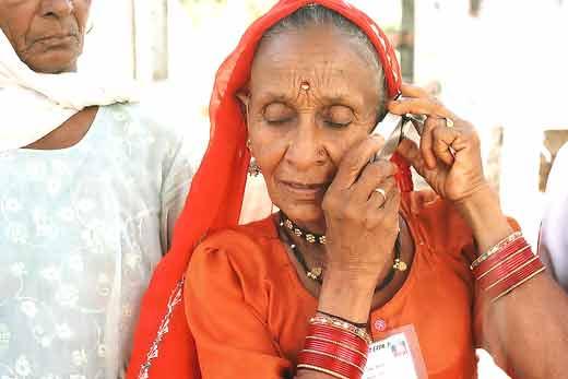 Индия, сотовый телефон