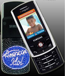 Американский идол и Бон Джови продают эксклюзивный Samsung D800