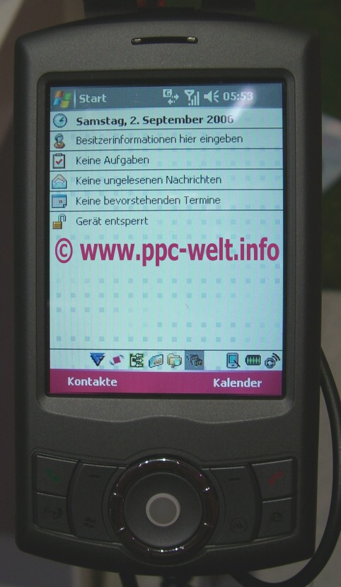 T-Mobile MDA Compact III (платформа HTC Artemis)