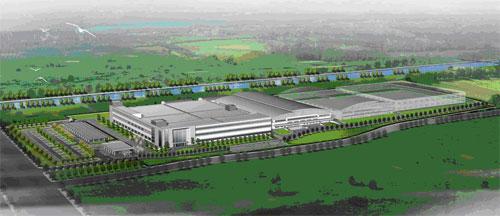 Проект нового завода в Шанхае. Начало работы: июнь