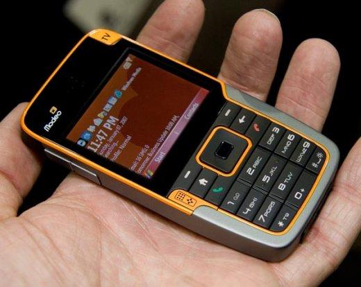 Modeo 3389 – новый смартфон с поддержкой DVB-H