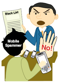 spam mobile