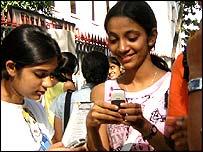 Индия, сотовые телефоны