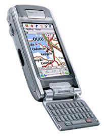 мобильный телефон с подержкой GPS