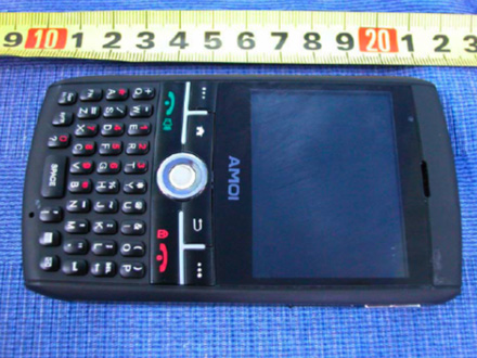 AMOI GSM6711A – солидный смартфон на базе Windows Mobile