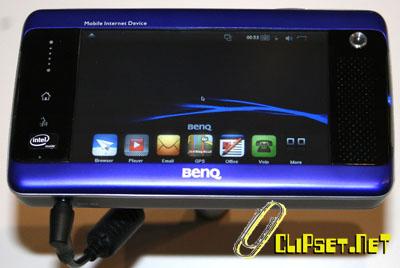 Мобильное интернет устройство MID WiFi & 3.5G от BenQ