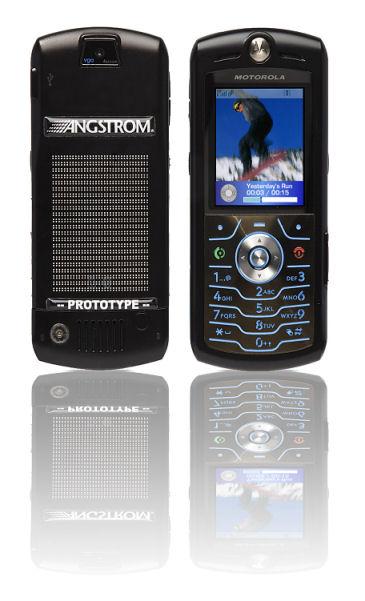 тестовый телефон Motorola с водородным питанием