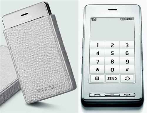 LG Prada Silver KE850