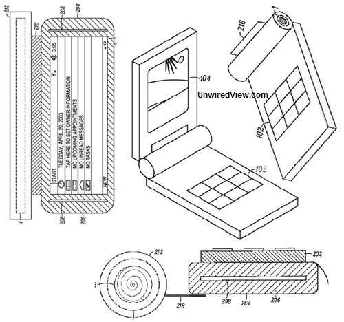 Сворачивающийся телефон от Motorola