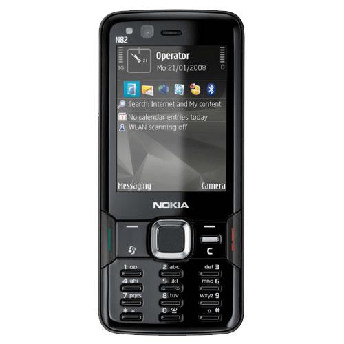 Nokia N82 – теперь и в черном