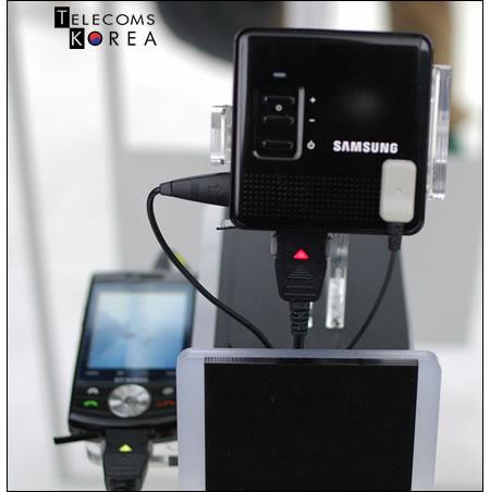 Samsung создает портативный проектор для мобильных телефонов