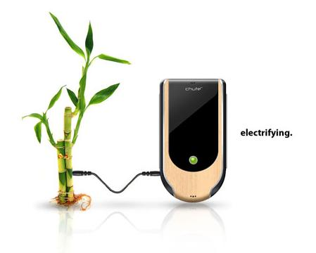 Бамбуковый телефон Chute
