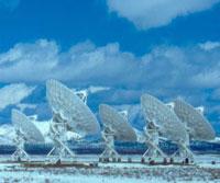 Радиотелескоп из Нью-Мексико принимает звонки с Юпитера