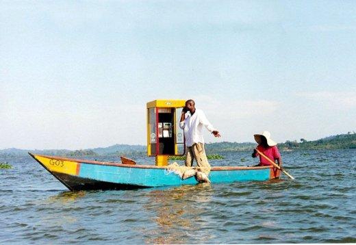 Мобильная сеть накроет озеро Виктория
