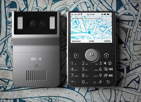 Концепт телефона Motorola со стереокамерой
