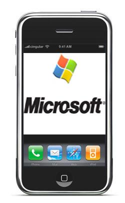 Microsoft займётся разработкой приложений для iPhone