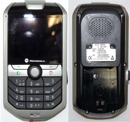 Motorola Smart Rider M990