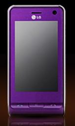 LG Viewty стал фиолетовым
