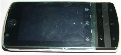 Шпионские фото Motorola E10?