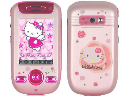"""Уникальный"" телефон из серии Hello Kitty"