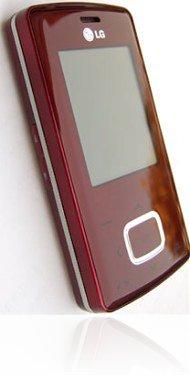 <i>LG</i> Chocolate KG800 Red