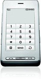 <i>LG</i> KE850 Prada Silver