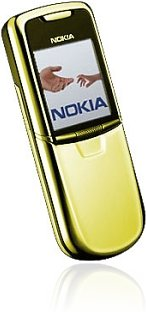 <i>Nokia</i> 8800 Yellow Gold