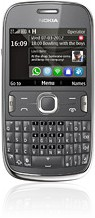 <i>Nokia</i> Asha 302