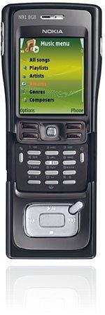 <i>Nokia</i> N91 8 Gb