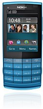 <i>Nokia</i> X3-02 Touch and Type