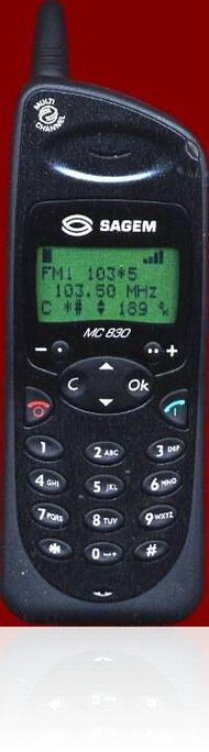 <i>Sagem</i> MC830