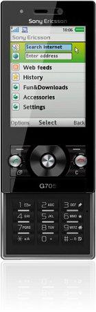 Sony-Ericsson G705