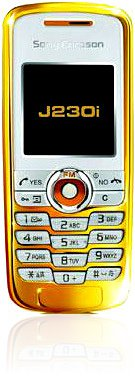 <i>Sony Ericsson</i> J230i Gold Edition