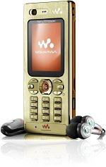 <i>Sony Ericsson</i> W880i Gold